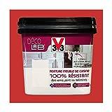 V33 Déco LAB Peinture Meuble de cuisine 100% Résistant Rouge piment