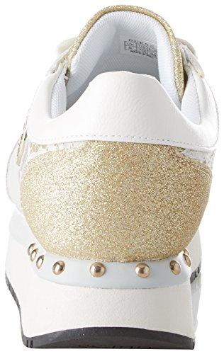 Calzature Attiva Immagino bianco Donna Blanc Cestini Femme pEEqrdw
