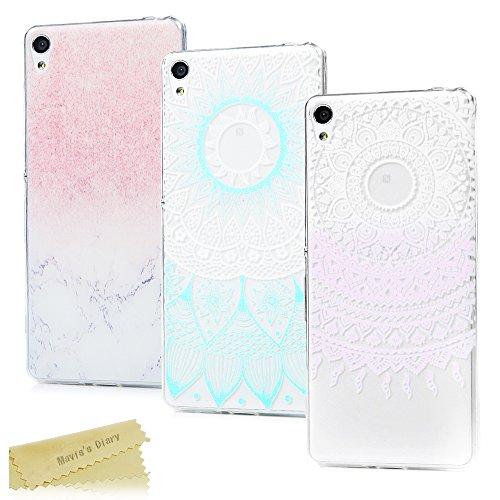 3-pack-sony-xperia-xa-case-maviss-diary-3-pcs-clear-soft-flexible-tpu-silicone-rubber-skin-bumper-co