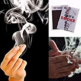 MAJGLGE Cool Close-Up Magic Trick Finger's Smoke Stage Stuffs Fantasy Requisiten