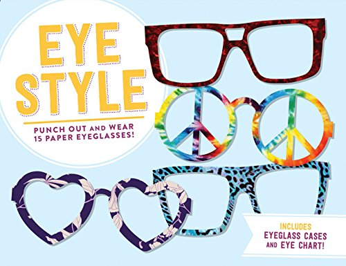 Eye Style: Punch Out and Wear 15 Paper Eyeglasses! (Store Dress Up Kleidung)