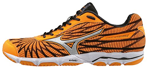 Mizuno Wave Hitogami (W), Scarpe Running Donna, Viola (Orange Pop/Silver/Dark Shadow), 38.5 EU