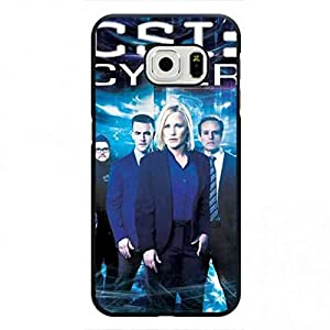 CSI Cyber Samsung Galaxy S6Edge Case, CSI: Cyber Logo Phone Shell Back Cover,Pc Hard Shell Skin Cover Case V2F3SO