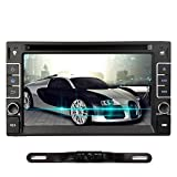 NAVISKAUTO Windows CE 6.0 Double Din Autoradio DVD Player Spieler Stereo Touch Screen GPS-Navigation Unterstützt Bluetooth FM AM Radio Subwoofer...