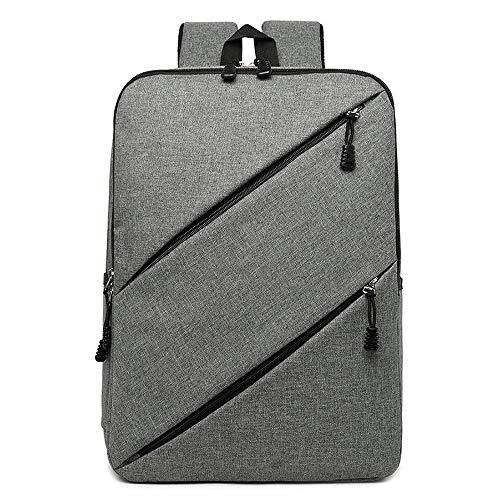 SJAPEX Laptop Rucksack für Herren und Damen, Schulrucksack mit USB-Ladeanschluss Daypack 15,6 Zoll Leichtgewicht Wasserdicht Backpack Anti Diebstahl Taschen, für Arbeit Reisen (Linear-laptop-schulter-tasche)
