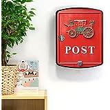 Burg Wächter caja negro con diseño de correos Nostalgia