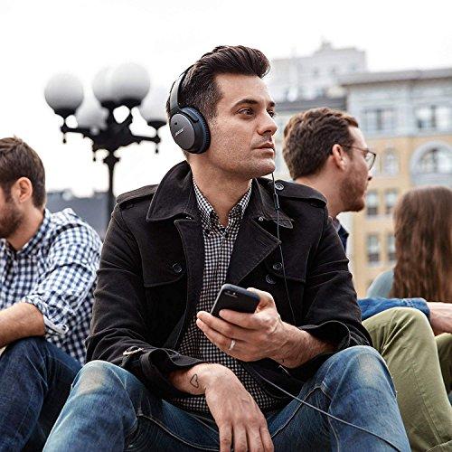 Bose QuietComfort 25 Acoustic Noise Cancelling headphones - Apple units, Black Image 9