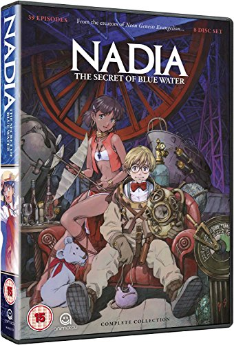 Nadia: Secret Of The Blue Water - Complete Series Collection [Edizione: Regno Unito] [Import italien]