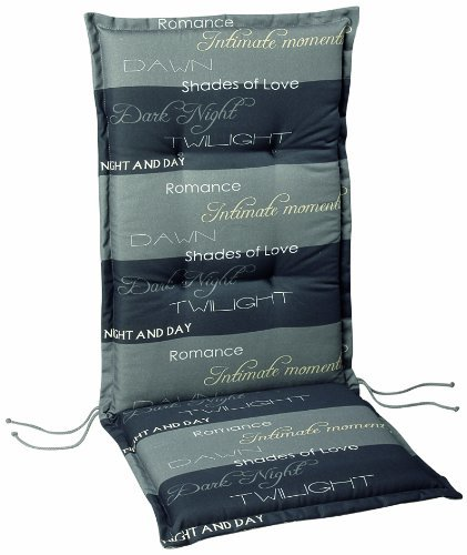 Best 04201235 Coussin pour fauteuil à dossier haut Motif 1235 120 x 50 x 7 cm