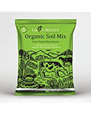 Green Roots Organic Potting Soil Mix with Cocopeat, Vermicompost, Neem Granule, Plant Manure 1kg