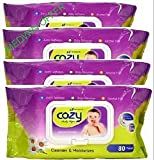 #10: COZY BABY WIPES 80sheets (Pack of 4)