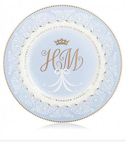 Placa conmemorativa de la colección oficial Prince Harry & Meghan Markle