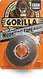 GORILLA GLUE 3044201 1.5 m Heavy Duty Mounting Tape - Black