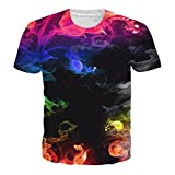 - 51q0kPeNDlL - NEWISTAR Unisex 3D Druckten Sommer-beiläufige Kurze Hülsen-T-Shirts T-Stücke