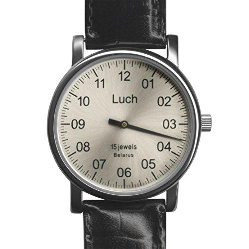 Luch Single Hand Mechanische Armbanduhr 37471762 - 5