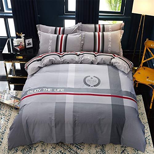 yaonuli Reine Baumwolle vierteilige Aktivdruck vierteilige Set Yabang 1,5 m Bett