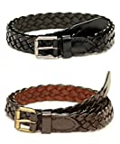 Tops Combo of 2 Braided Leather Belts Fo...