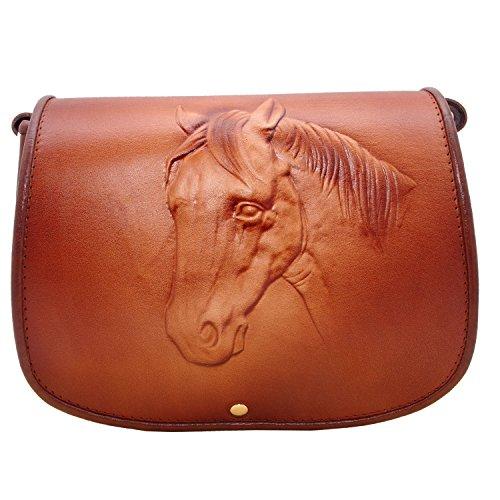 koson-leather-moulded-handbag-unique-horse-design-genuine-leather-satchel-shoulder-cross-body-bag-me