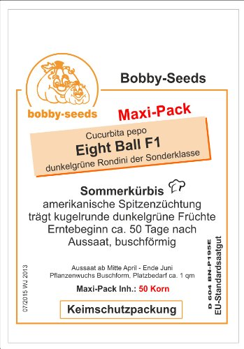 Bobby-Seeds Zucchinisamen Eight Ball F1 Portion