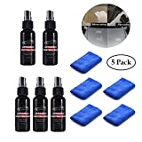 Best Wax For Car Scratches And Chips - Ruier-hui 5 PCS Car Coating Kit Car Glass Review
