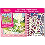 Melissa & Doug 14299 Flower Garden Fairy Peel and Press Sticker by Number