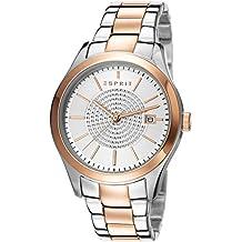Esprit ES107792003 - Reloj de cuarzo para mujer, correa de acero inoxidable color dos tonos