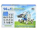 #10: Powepak 14 in 1 Educational Solar Robot Toy Kit For 10+ Kids - 2115