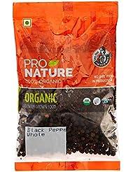 Pro Nature 100% Organic Black Pepper (Whole) 100g