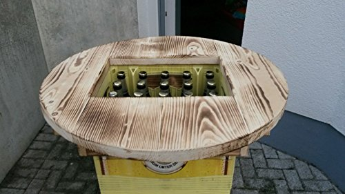 Bierkistentisch Bierkastenaufsatz Bartisch Partytisch Stehtisch