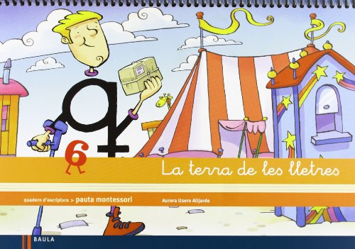 Quadern d'escriptura 6 Infantil La terra de les lletres (Projecte La terra de les lletres) - 9788447925544