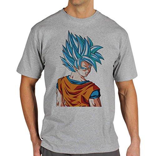 Dragon Ball Gogu Super Saiyan God Dragon Ball Super Herren T-Shirt Grau