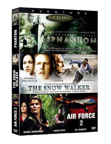 Aventure:Phantom / The Snow Walker / Air Force 2 [FR Import]