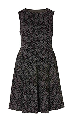 Joe Browns - Robe - Opaque - Femme Gris Gris/noir Multicolore - Gris/noir