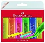Faber-Castell 154642 - Textmarker TEXTLINER 1546, 1 - 5 mm, 6er Etui