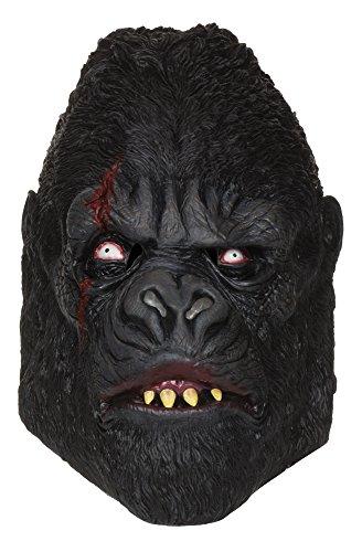 6 Zombie Gorilla Maske, Mehrfarbig, Einheitsgröße ()