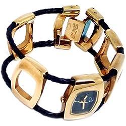 Roberto Cavalli Reloj mujer braccialato acero chapado en oro
