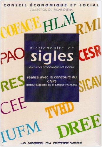 Dictionnaire de sigles