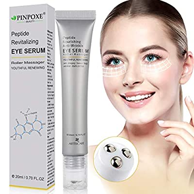 Eye Cream, Anti Ageing Eye cream, Anti Wrinkle Eye Cream, Peptide eye serum, Reduces Dark Circles, Puffiness, Eye Bags, Wrinkles and Crow's Feet, Night and Day Moisturizing Cream