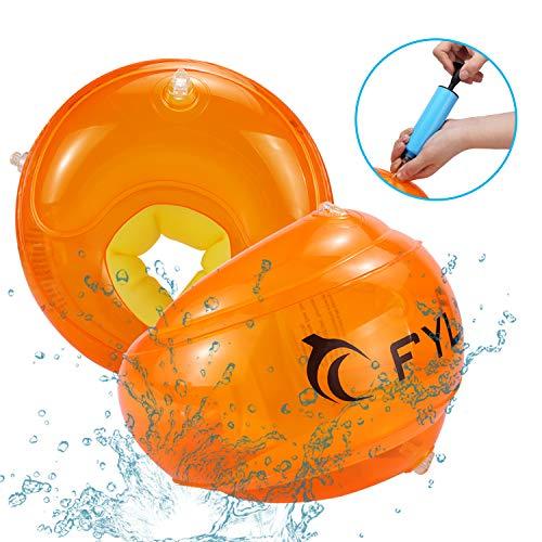 FYLINA Schwimmhilfen Kinder Innovative Schwimmflügel Für 1-4 Jahre bis 9-18KG