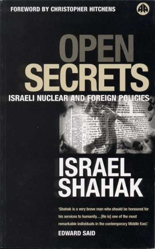 Open Secrets: Expansionism and Israeli Foreign Policy (Film/Fiction; 2)