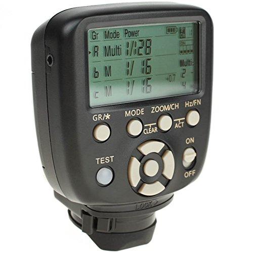 Yongnuo Steuereinheit YN560-TX II Nikon Blitz- und Funkauslöser für YN560 III & IV, YN660, YN968N, YN860Li sowie RF-602, RF-603, RF-603 II, RF-605
