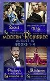 Modern Romance August 2016 Books 1-4 (Mills & Boon e-Book Collections)