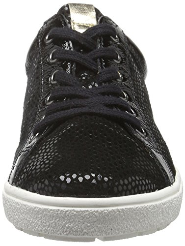 Caprice 23653, Baskets Basses Femme Noir (Black Comb 019)