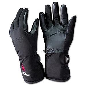 Charly LI-ION Light, beheizbare Handschuhe/elektrisch beheizte Handschuhe mit Akku, Windstopper