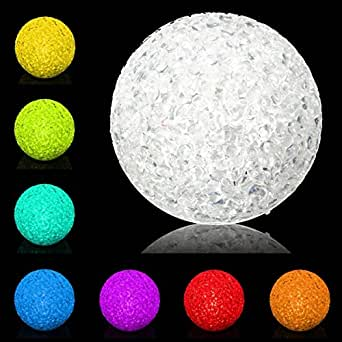 SOLMORE Guirlande Ballon Lumineuses LED Boule Festival 7 Changement de Couleurs pour Décoration de /Noël / Fête/ Mariage / Soirée / Anniversaire Euro Prise (Multicolore)