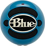 Blue Microphones Snowball Omnidirectional/Cardioid USB Microphone - Neon Blue