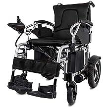 Y&XF Silla de Ruedas eléctrica portátil de Peso Ligero Scooter para discapacitados y Personas Mayores Movilidad