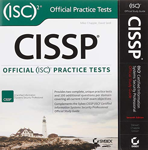 CISSP (ISC)2 Certified Information Systems Security Professional Official Study Guide and Official ISC2 Practice Tests Kit -