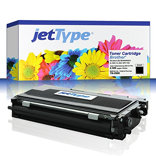 TN 2000 / TN2000 Toner kompatibel für Brother HL 2030 / HL...