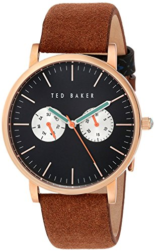 Montre TED BAKER Cuir - Homme - 40x46mm